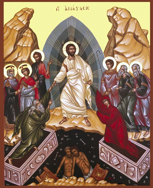 The Gloriour Resurrection of Our Lord and Saviour Jesus Christ!