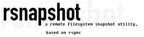 rsnapshot Linux and FreeBSD easy data backup tool logo