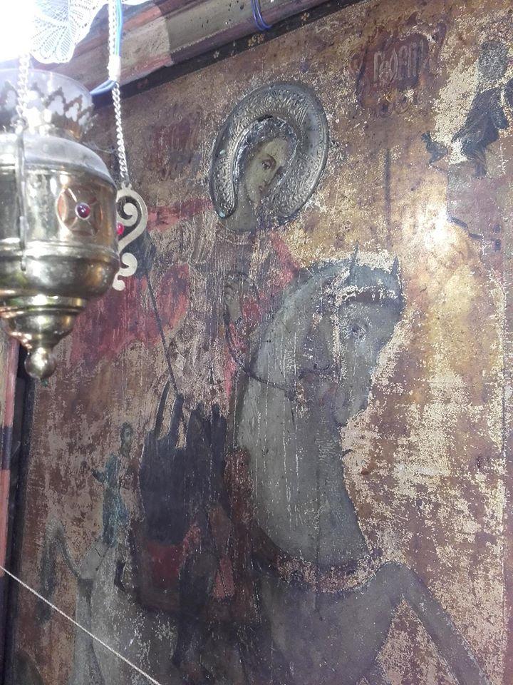 saint-George-the-glorybringer-in-Church-of-saint-George-village-Zlatolist