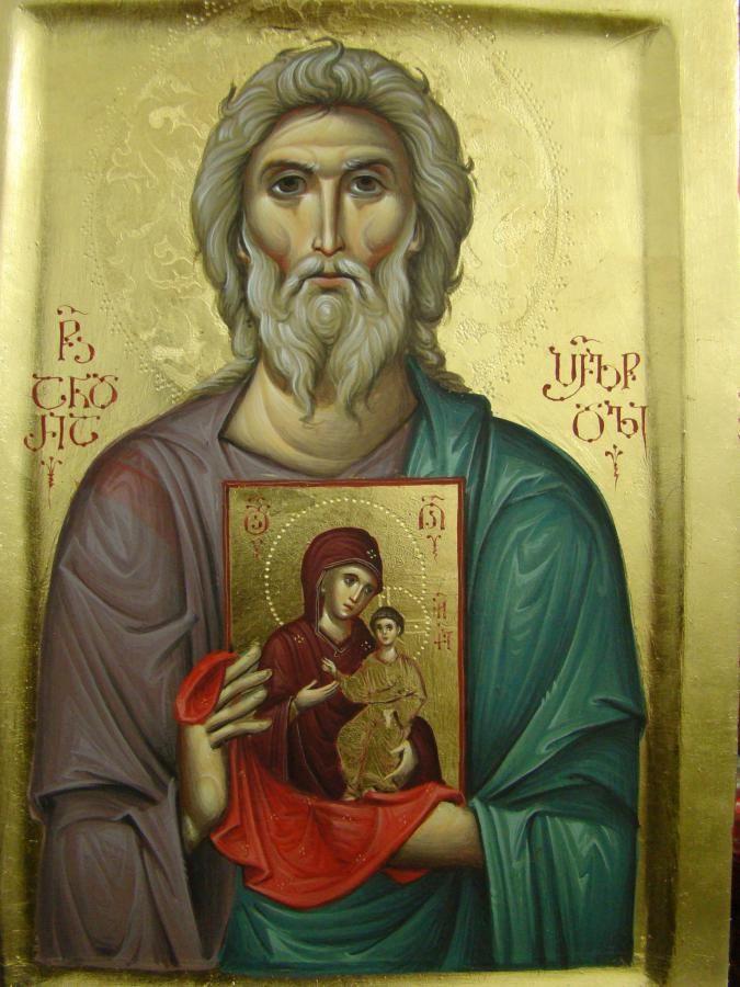 saint-apostle-Andrew-with-the-icon-of-holy-Theotokos