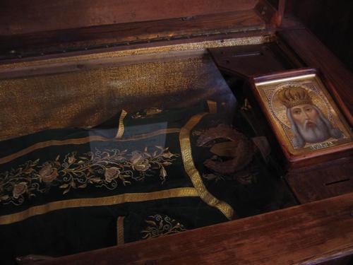 Saint King Milutin Holy Relics Sofia saint Nedelia Church photo from wikipedia