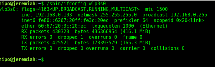 show-extra-information-ip-netmask-broadcast-about-wireless-interface-linux