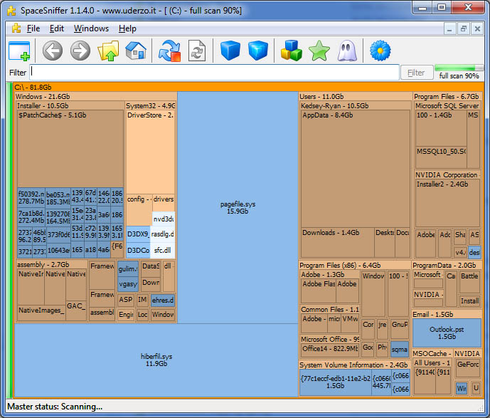 spacesniff-visualize-disk-data-in-windows-nice-check-large-directories