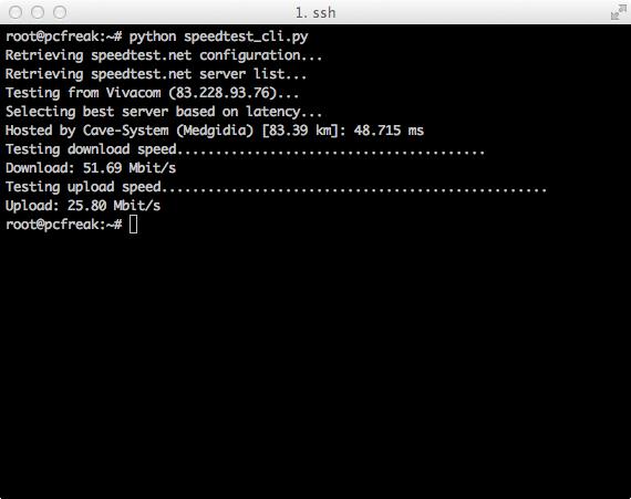 speedtest_cli_pyhon_script_screenshot-on-gnu-linux-test-internet-network-speed-on-unix