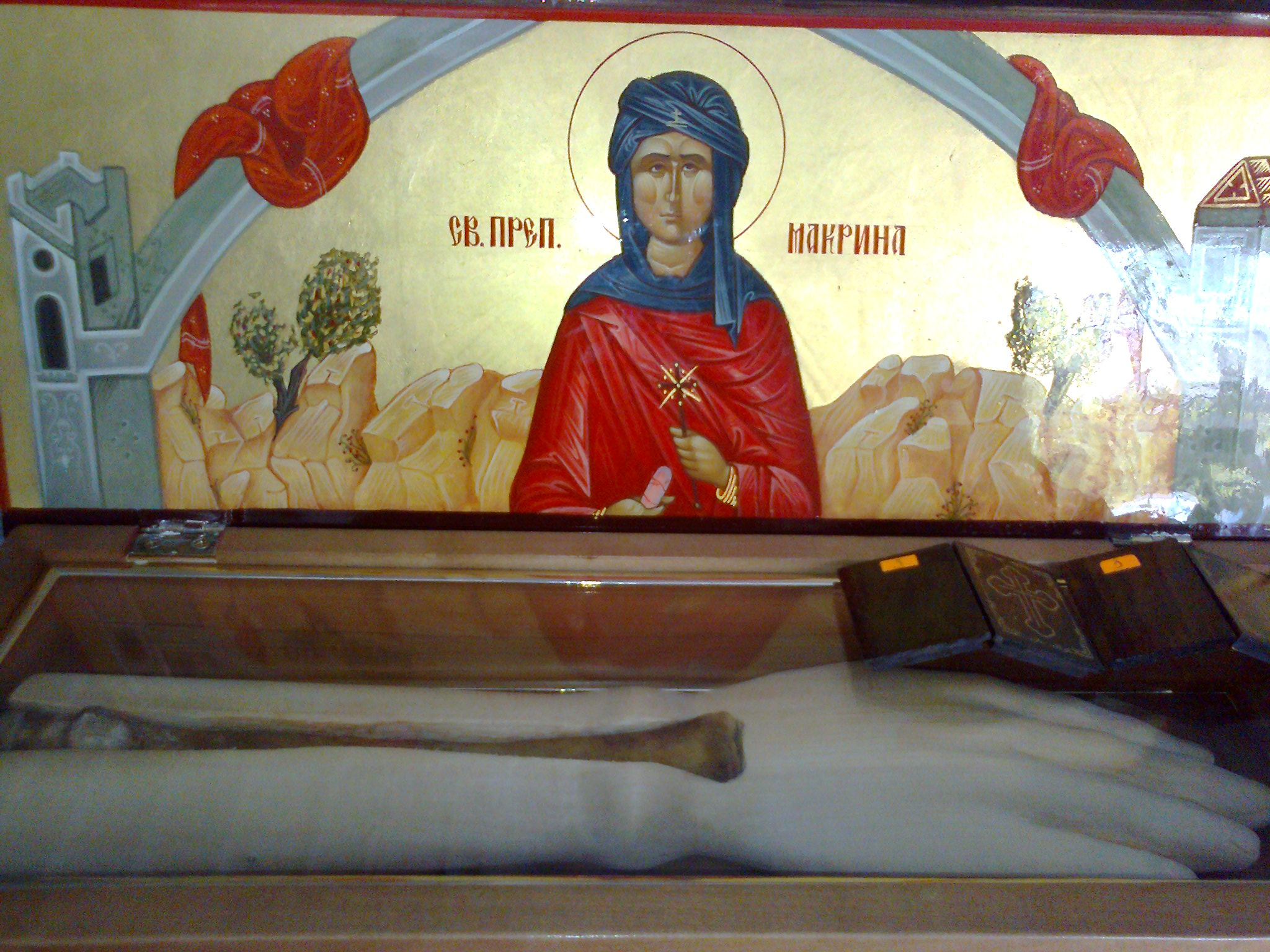 Saint Venerable Macrina Holy Relics picture from Pomorie Monastery