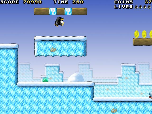 Super Tux A Super Mario Bros. clone for Linux