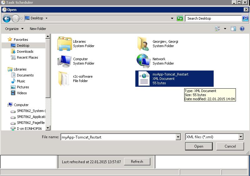 task-scheduler-import-tomcat-restart-xml-file-windows-server-2008-r2-screenshot