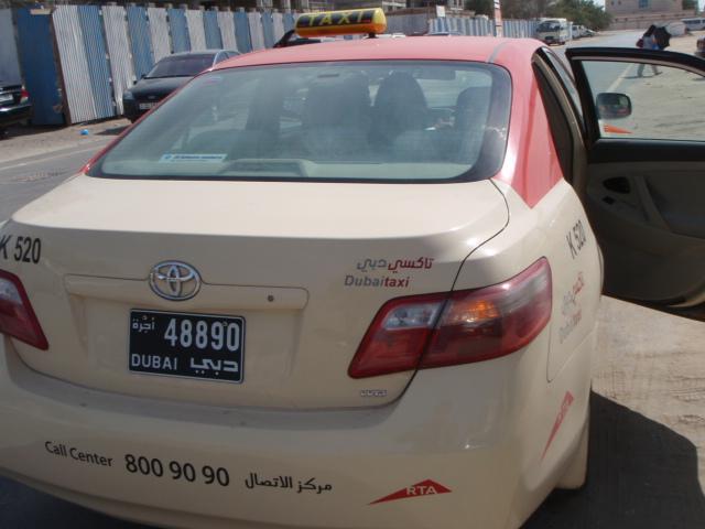 Random Taxi in Dubai