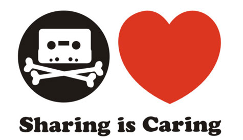 Importance of sharing in modern digital society, sharing should be legal, Sharing caring