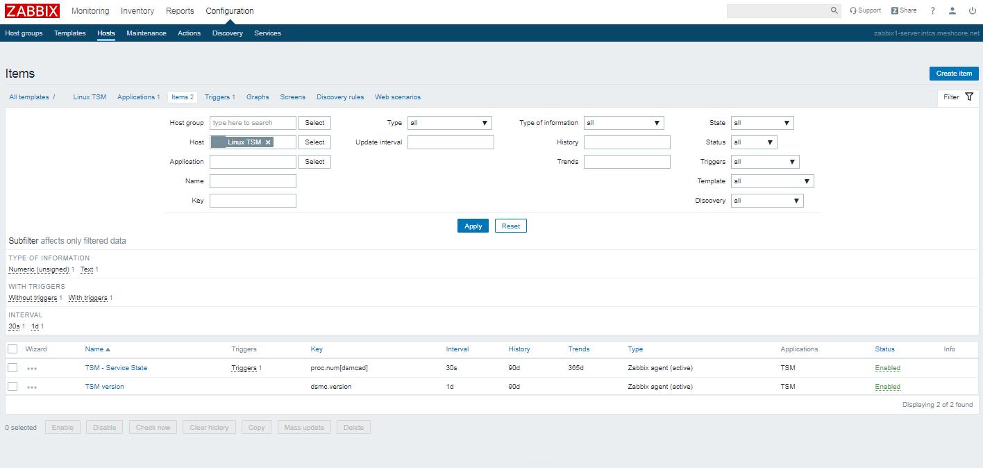 tsm-service-version-screenshot-zabbix