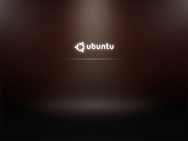 Ubuntu 9.10 boot screen