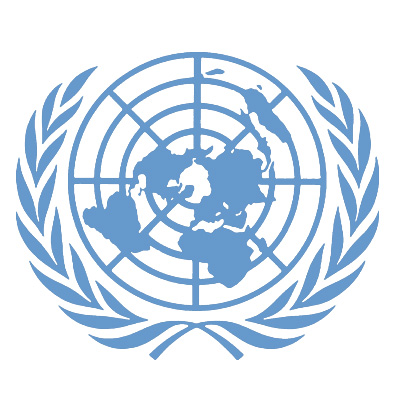 United Nations World GLobe target evil logo