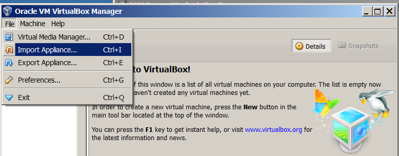 Migrate VMWare Linux Virtual Machine to Virtualbox - Convert