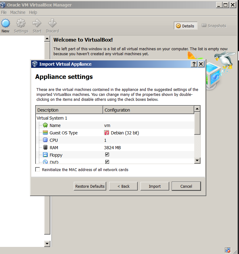 virtualbox-import-vmware-previously-installed-virtual-machine-linux import appliance virtualbox