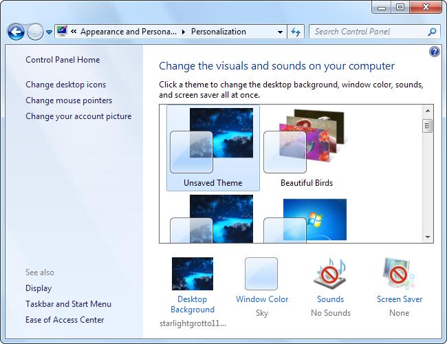 windows-7-appearance-and-personalization-control-panel-setting-screenshot