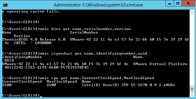 windows-command-to-show-motherboard-bios-and-cpu-serials-and-specific-info-with-wmic