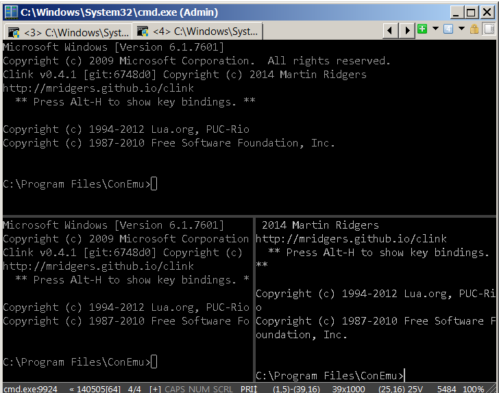 windows-conemu-good-substitute-for-linux-bash-shell-for-microsoft-windows-users-split-screen-how-to-tab-completion-windows