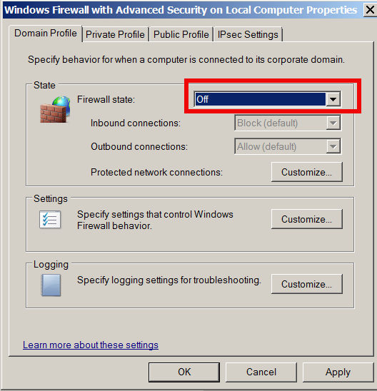 windows-firewall-off-reason-for-general-failure-no-internet