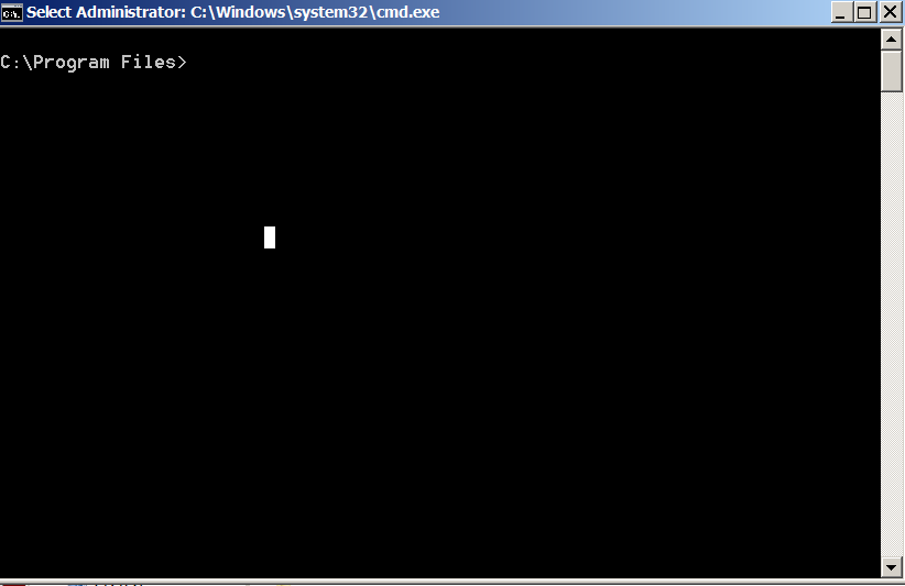 windows opening directory in command line program files screenshot win 7