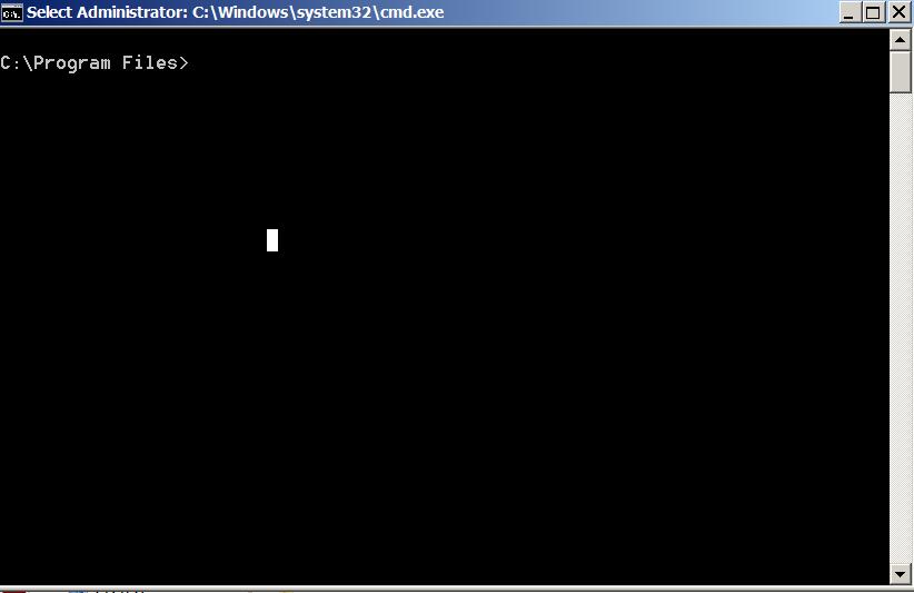 windows opening directory in command line program files screenshot win 7