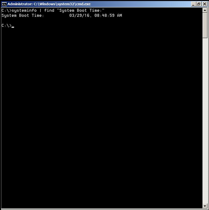 windows-os-command-to-get-system-uptime-screenshot