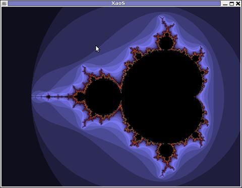 XAOS Screenshot Debian Squeeze Linux
